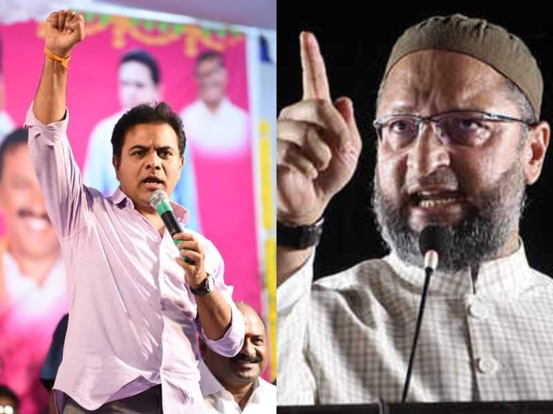 Hyderabads honking woes: KTR moots Mumbai police model, Owaisi opposes