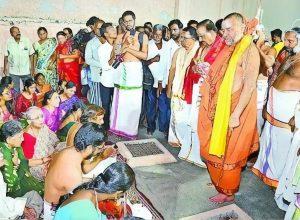 S.P Balasubramanyam gifts his ancestral property to Vedic school in AP