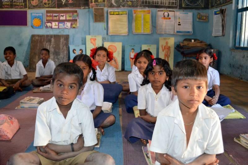 Literacy rates in rural Andhra, Telangana below national average