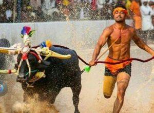 Nishant Shetty betters Srinivas Gowda's Kambala record with 9.51 seconds
