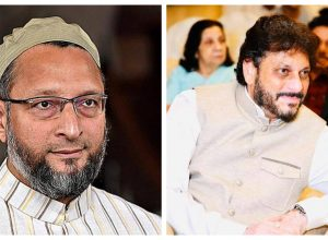 Criminal complaint against AIMIM's Asaduddin Owaisi, Waris Pathan over controversial remarks