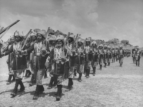 Well Armed Lashkars Of The Hyderabad Army