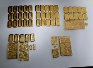 Gold worth Rs 13 crore seized at Vijayawada, Secunderabad, 12 arrested
