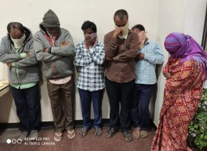 Six-member gang arrested for looting in the name of 2BHK scheme