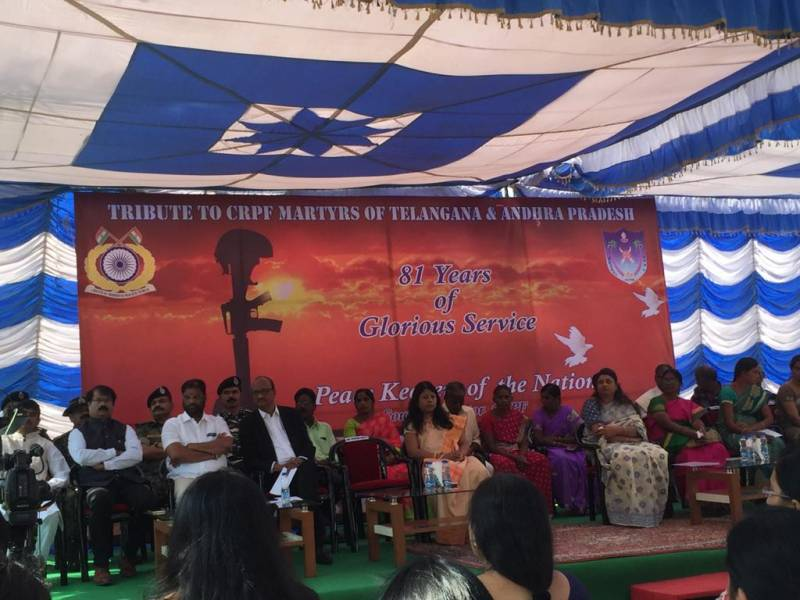 pulwama terror attack commemoration crph southern sector hyderabad