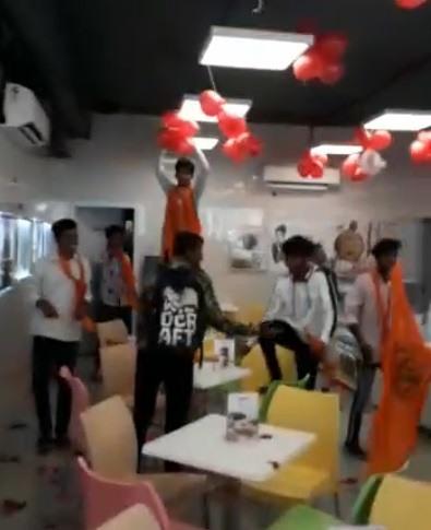 Valentines Day vandalism: Cyberabad police arrests 5 Bajrang Dal activists
