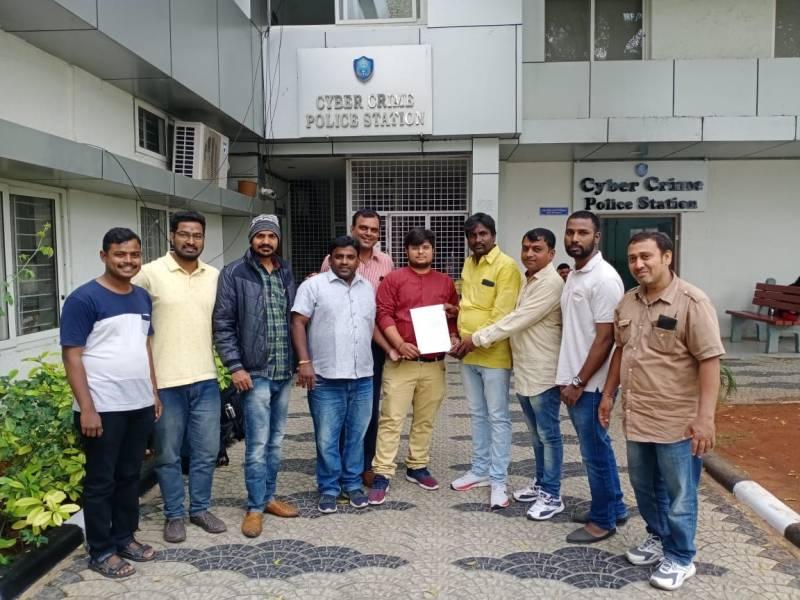 Complaint Against Kathi Mahesh