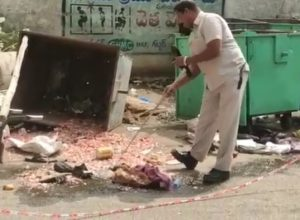 Rag picker injured in mysterious blast in Musheerabad