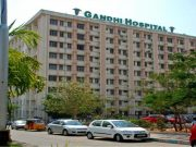 Massive security build-up at Gandhi hospital after violence
