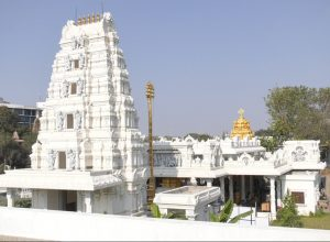 Telangana's first golden temple : Hare Rama Hare Krishna temple in Hyderabad