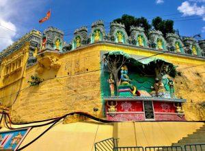 Suspended Mahant Arjun Dass retakes charge of Hathiramji Mutt