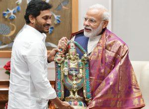 AP CM Jagan meets Modi discusses capital shifting, dissolution of legislative council