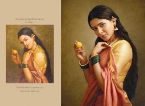 Samantha, Shruthi, Aishwarya Rajesh bring life to Iconic paintings of Ravi Varma