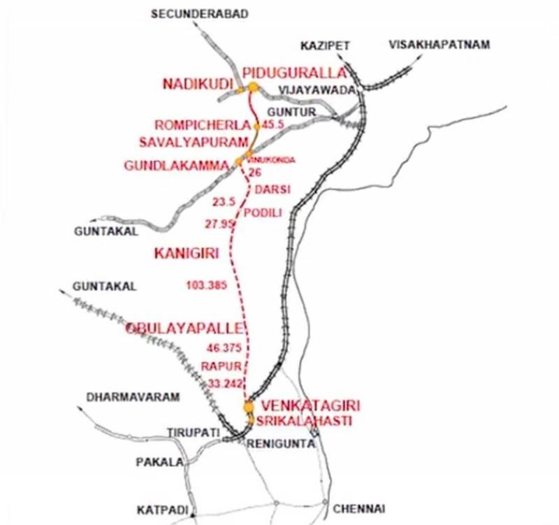 Railway Budget 2020: Rs 1,198 Cr for Nadikudi-Srikalahasti rail line