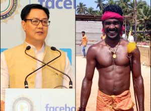 Union Sports Minister Kiren Rijiju calls 'record sprinter' Srinivasa Gowda for trials