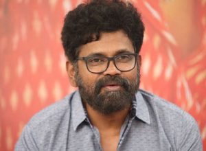 Sukumar busy writing a script for Chiru