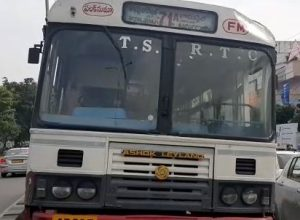Man 'hijacks' RTC bus, abandons it 10 kms away in Vikarabad