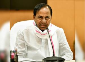 KCR sounds alert on locusts attack again