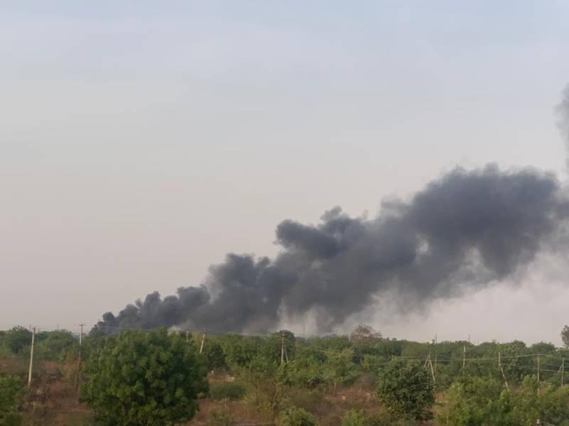Blast explosion in PNM chemicals bollaram