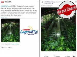 Fact Check: No, this picture of escalator is not from Malaysia