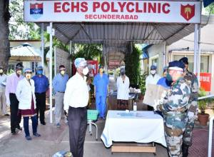 Defence Medical Corona warriors in Hyderabad get advanced N-99 masks