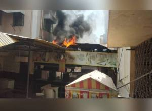 Fire breaks out in City Civil Courts complex canteen in Purana Haveli