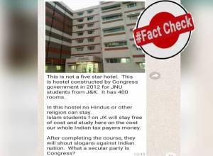 Fact Check: No, Muslim students don't stay for free in Jamia's J&K Hostel