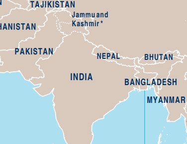 J And K On Map