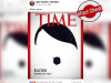 Fact check: Viral image of Trump's pic as Hitler's moustache on Time magazine cover is false