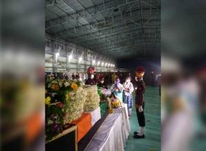 Home they brought their warrior dead: Final rites of Col Santosh Babu on Thursday