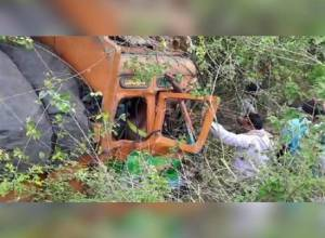 13 people from Telangana killed in road mishap near Vedadri in AP