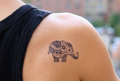 Small Elephants Tattoo
