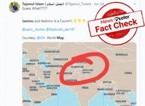 Fact Check: Does the UN in its world map recognize J&K as a separate country?
