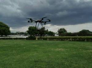 Hyderabad students build drone that can sanitise from above 400 metres