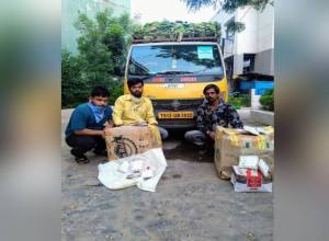 Smuggling bid foiled, 55 Kg Ganja seized, three peddlers arrested in Hyderabad
