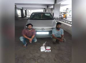 Drug cartel busted, hashish oil, charas seized from car at Hyderabad's SR Nagar