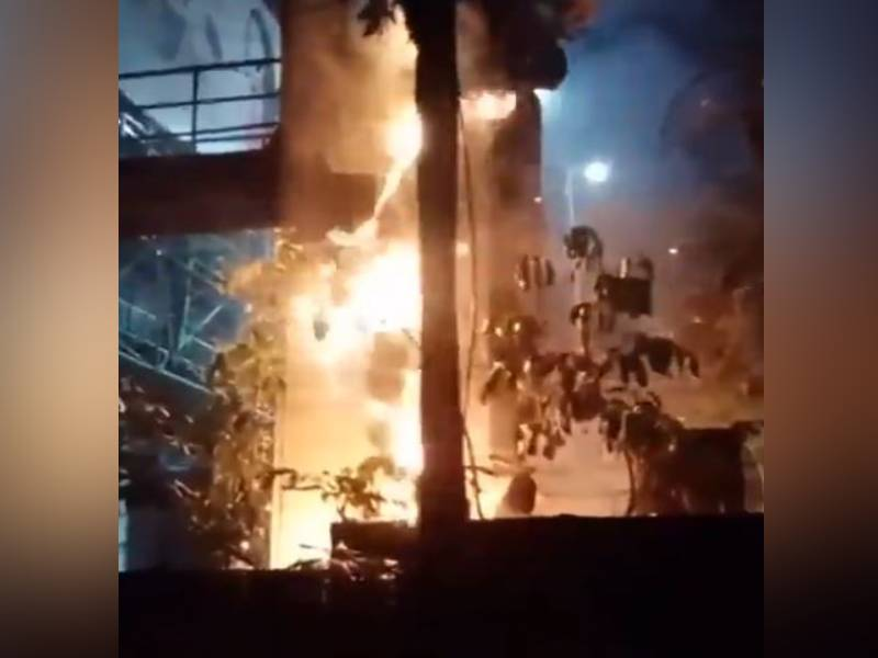 Transformer of LV Prasad Eye Hospital catches fire, major tragedy averted