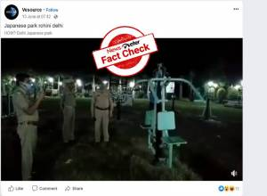 Fact Check: Not ghosts but extra lubrication caused open gym to swing in Jhansi Park