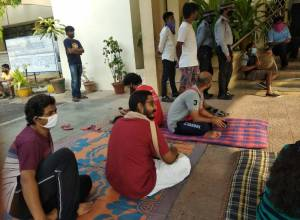 Protests at HCU after administration asks hostellers to vacate