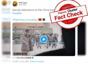 Fact Check: Video showing Pak, Chinese soldiers dancing after martyrdom of 20 Indian soldiers is old one