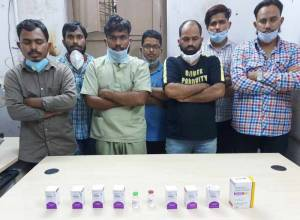 Seven, including 3 staff nurses, held for selling Remdesivir, Cipremi injections illegally at higher price