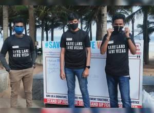 #SaveLandSaveVizag: Citizens speak up against illegal land encroachment by Andhra govt