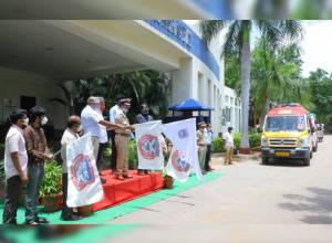Cyberabad Police kicks off 2 more free ambulances for the public