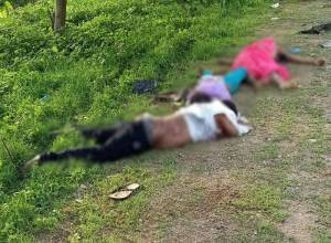 Couple, 10 YO crushed to death on Vijayawada-Hyderabad National highway