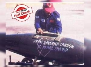 Fact Check: Yes, India sent missilesto Pakistan during Kargil war with Raveena Tandon's love message
