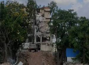 Telangana Secretariat 90 percent razed; Media gets a peek