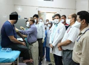 Hype, hope as vaccine trials begin at NIMS Hyderabad, AIIMS Delhi