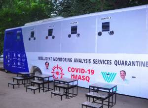 Telangana State launches 20 Mobile Testing Buses