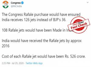 Fact Check: True, Congress-led government had closed Rafale deal in 2012