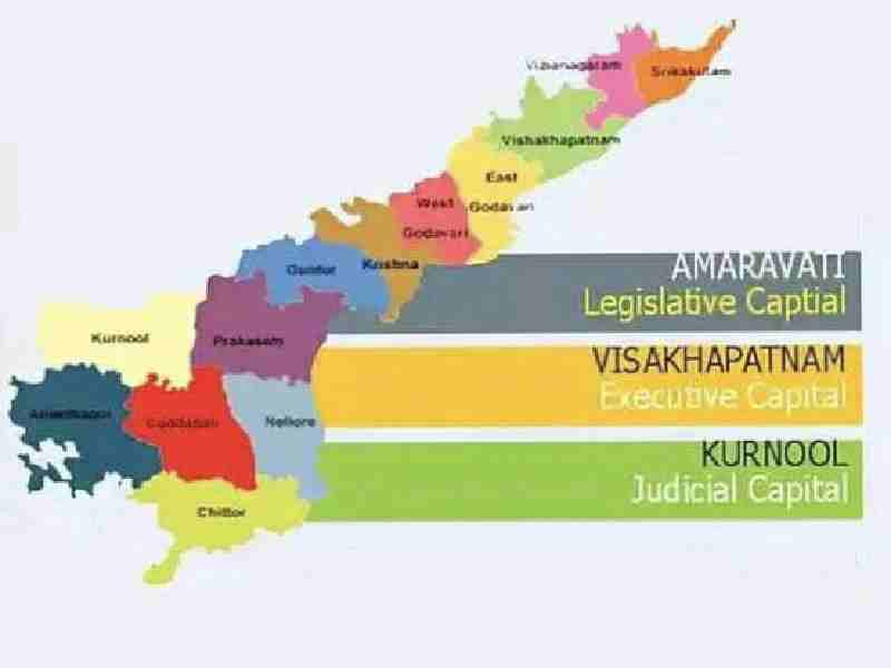 Three Capitals of Andhra Pradesh and Eight Legal Challenges
